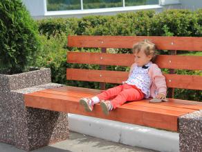 """скамейка """"Александра со спинкой"""